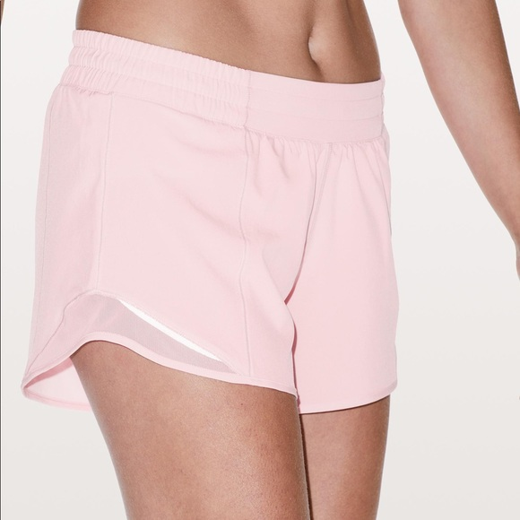 Lululemon Athletica Shorts Lululemon Hotty Hot 25 Inch Pink Poshmark